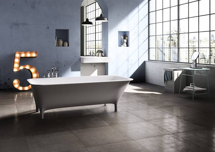 Blustyle concrete jungle vangeli giuseppe arredo bagno a milano