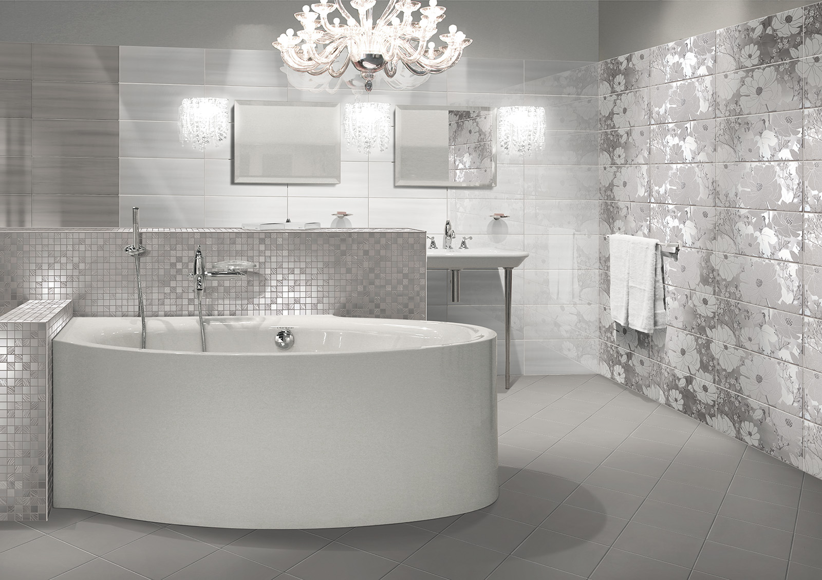 Maioliche bagno decora la tua vita - Ceramiche grazia bagno ...