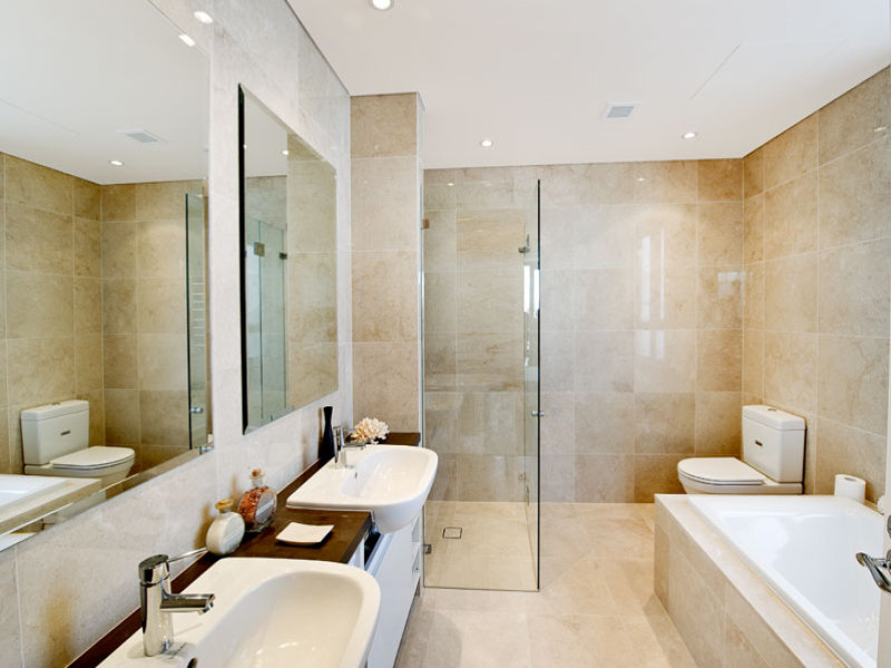 ... Arredo bagno a Milano, Via Donatello 11 - Interior design